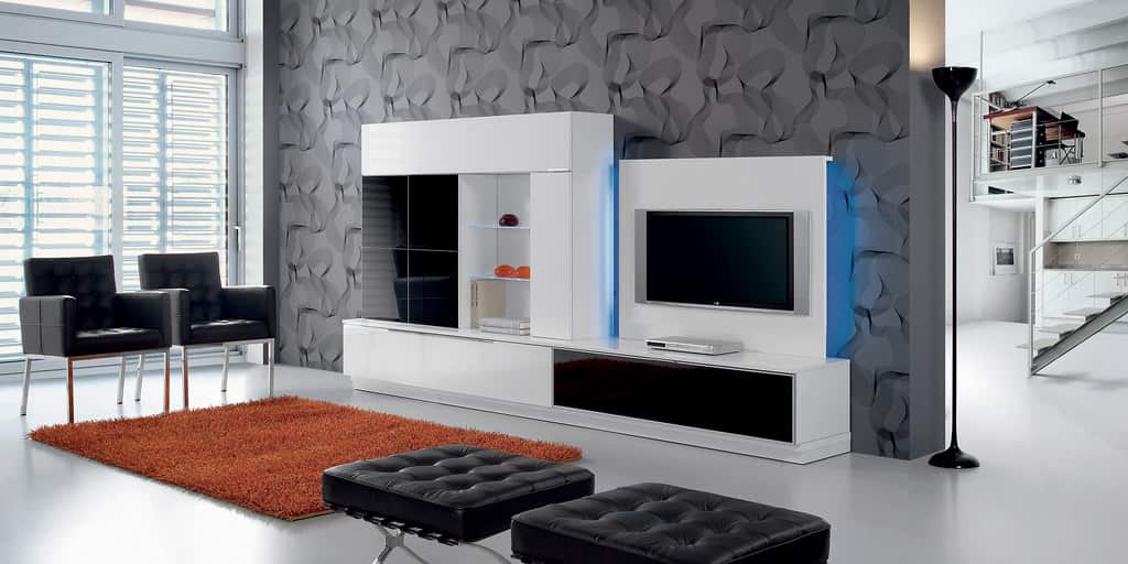Muebles estilo vanguardista