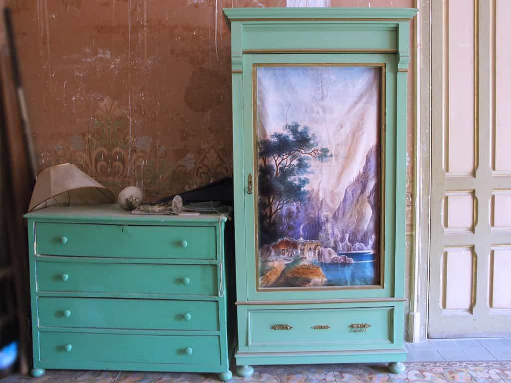 Reciclado de muebles de estilo retro