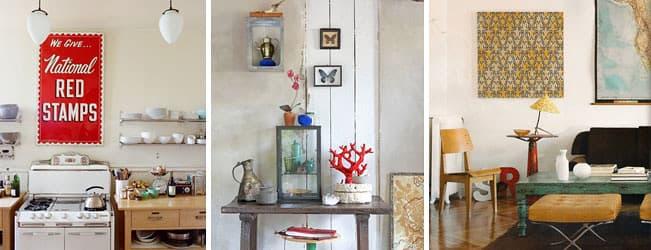 Diferentes estilos de decoración antigua